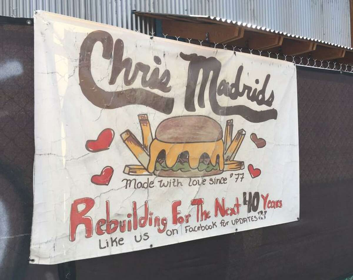 Chris Madrid's is is now open in a newly constructed building. A fire gutted the property in 2017.