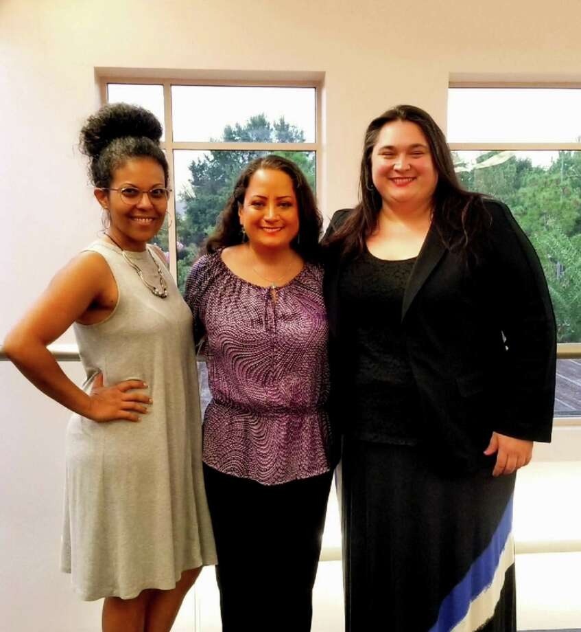"""In October the Texas Familias Council will launch """"Madres Raising Texas,"""" a support advocacy initiative gathering local diverse mothers to explore the issues facing Texas children. Maria Banos Jordan, center, is the founder of the Texas Familias Council. Photo: Courtesy Photo"""