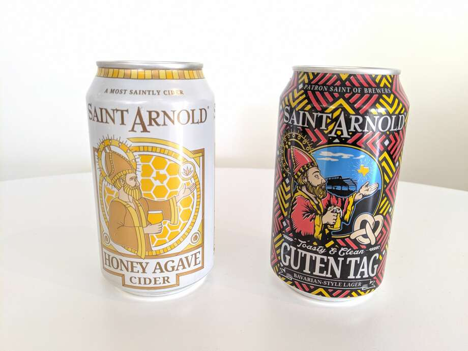 Saint Arnold announces two new additions to its lineup of year-round beers: Honey Agave Cider, and Guten Tag. >>>PHOTOS: St. Arnold's 25th anniversary party... Photo: Maggie Gordon/Houston Chronicle