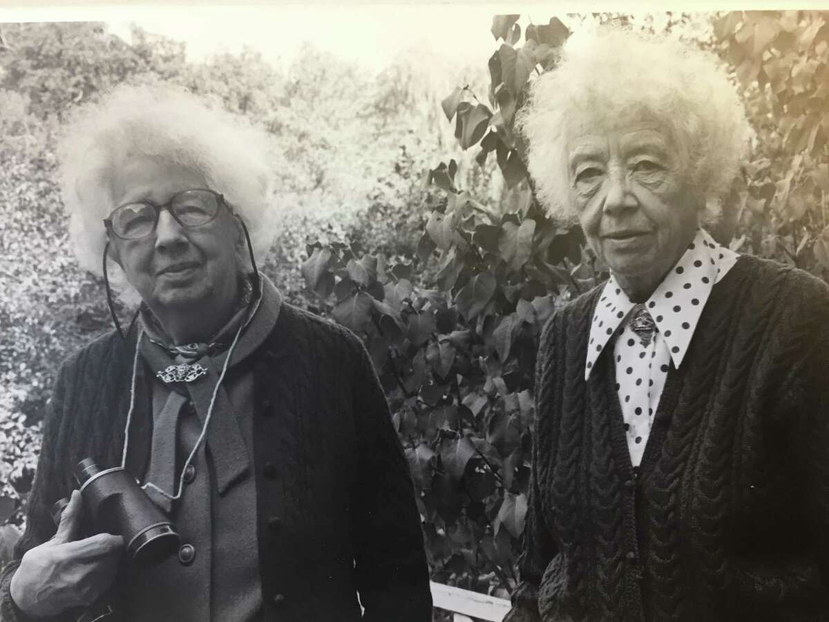 Here is a picture of Helen and Alice Bristow from around 1971 when the Bristow Bird Sanctuary was named in their honor!