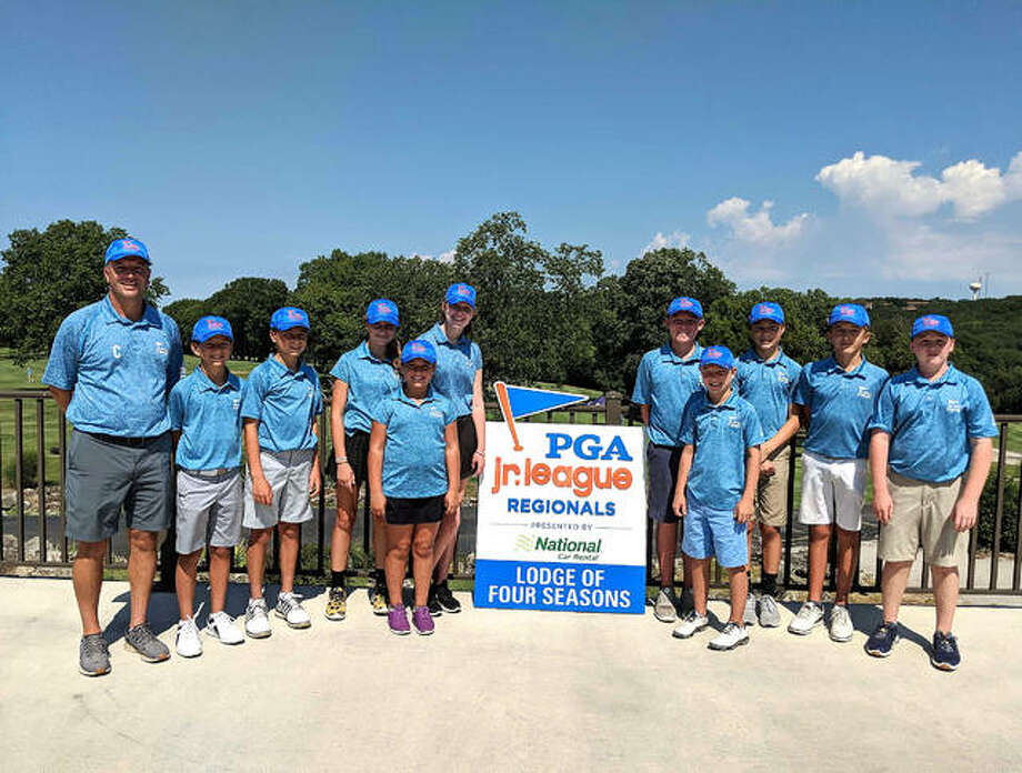 The Metro 1 All-Stars played Saturday and Sunday in the PGA Junior League Regional at The Lodge of Four Seasons in Lake Ozark, Mo. Photo: For The Intelligencer
