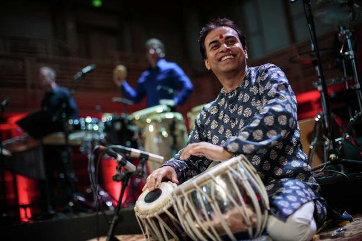 The Greater Bridgeport Symphony's 74th season premieres on September 21 at The Klein in Bridgeport, featuring members of Yo Yo Ma's Silkroad Ensemble, including Indian tabla virtuoso Sandeep Das.