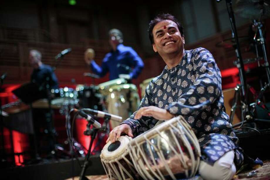 The Greater Bridgeport Symphony's 74th season premieres on September 21 at The Klein in Bridgeport, featuring members of Yo Yo Ma's Silkroad Ensemble, including Indian tabla virtuoso Sandeep Das. Photo: Max Whittaker/ Contributed Photo