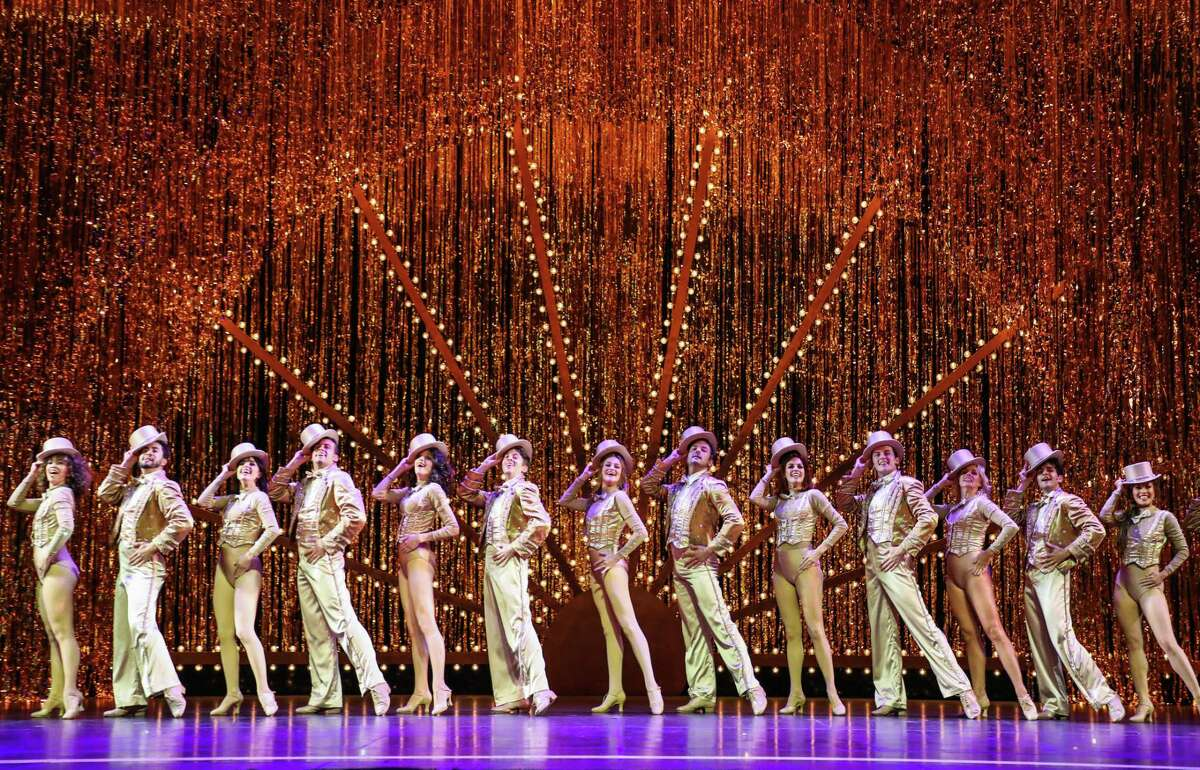 The Cast of the current TUTS production of A Chorus Line, 2019.
