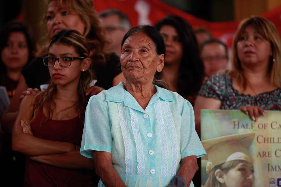 Democrats shouldn't take Latino voters for granted. It's not a monolithic voting bloc. A recent poll found 22 percent of Hispanic registered voters approved of President Donald Trump. Photo: Katie Falkenberg /McClatchy-Tribune News Service / Los Angeles Times