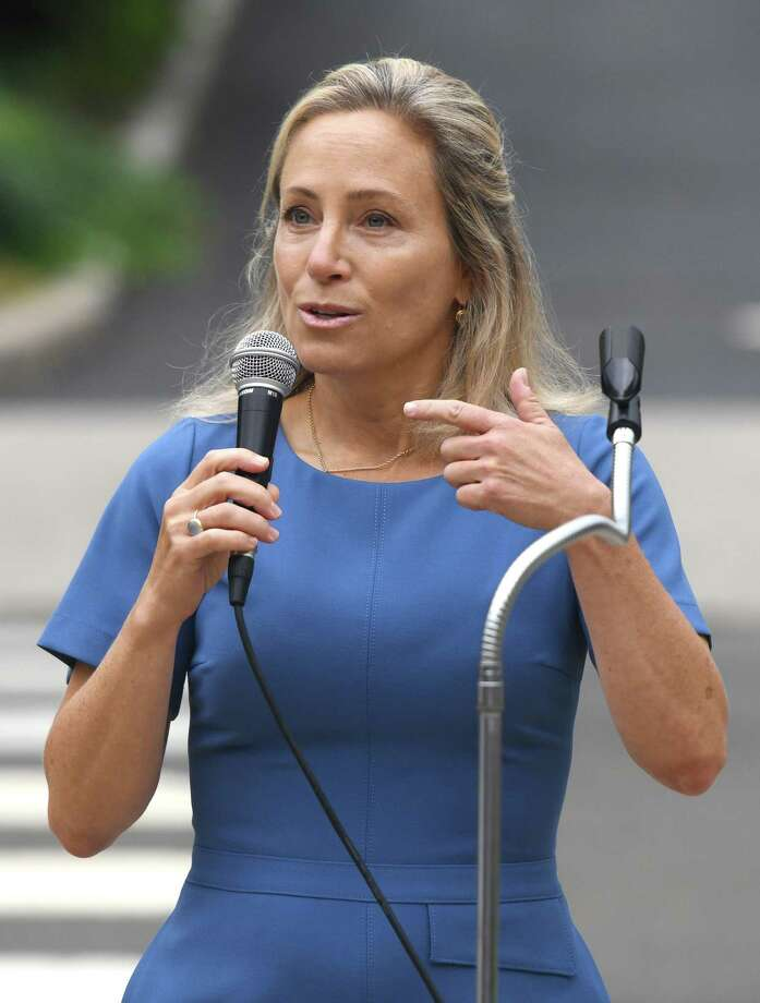 State Sen. Alex Kasser, D-Greenwich, said she has recommended to Gov. Ned Lamont that the state should adopt the same shelter in place order that has been done in San Francisco to try and stop the spread of coronavirus. Photo: Tyler Sizemore / Hearst Connecticut Media / Greenwich Time