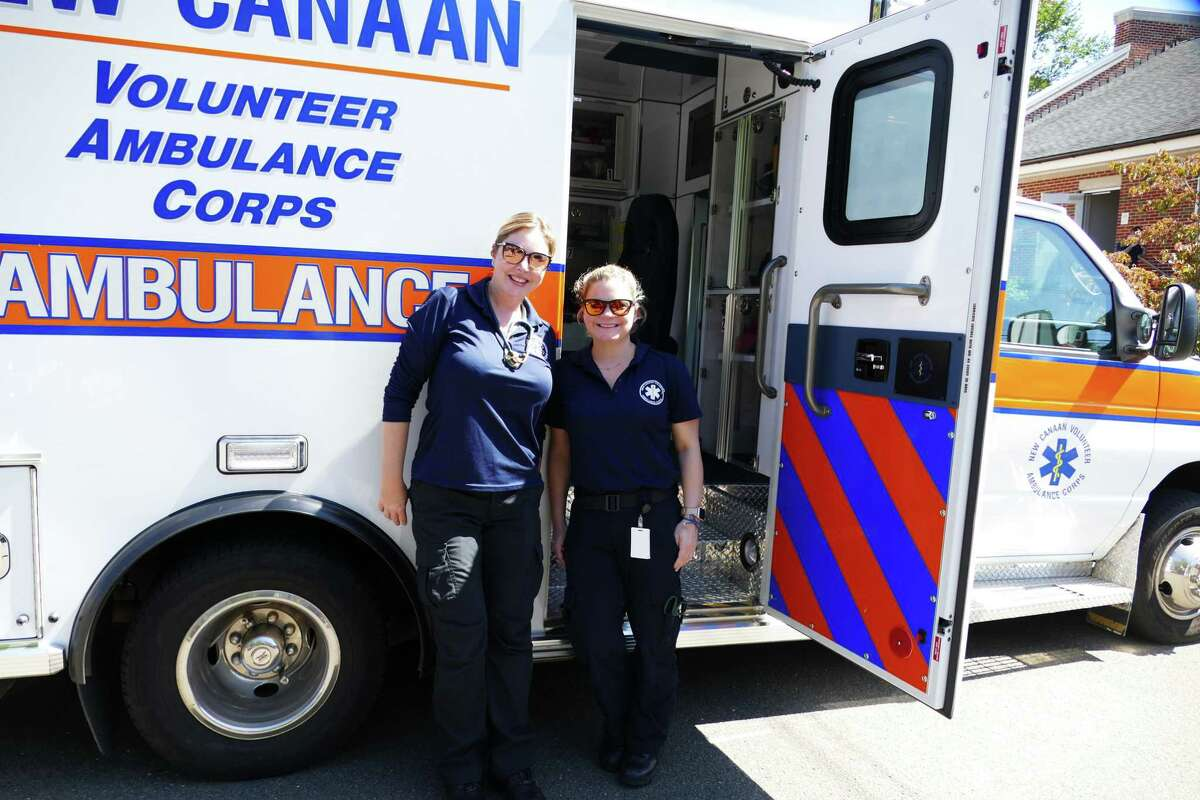 New Canaan Emergency Medical Services, (EMS, also known as New Canaan Emergency Medical Services, and the New Canaan Volunteer Ambulance Corp), recently had an open house on South Avenue to let the community see the facilities.
