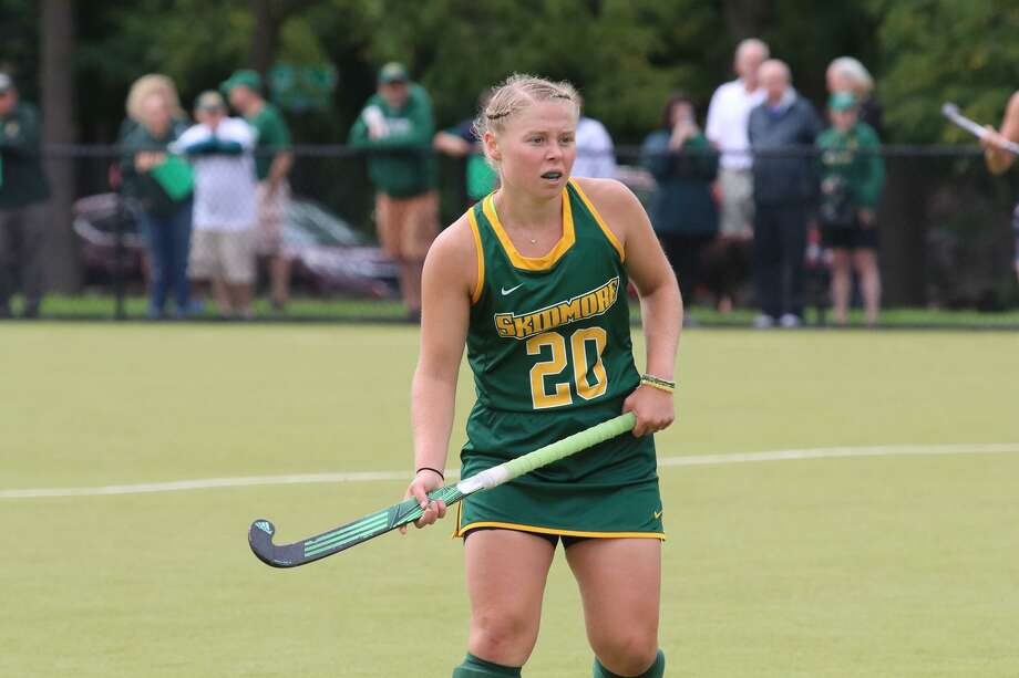 Saratoga High School graduate Sarah Winters of the Skidmore field hockey team. (Courtesy of Skidmore Athletics) Photo: Courtesy Of Skidmore Athletics