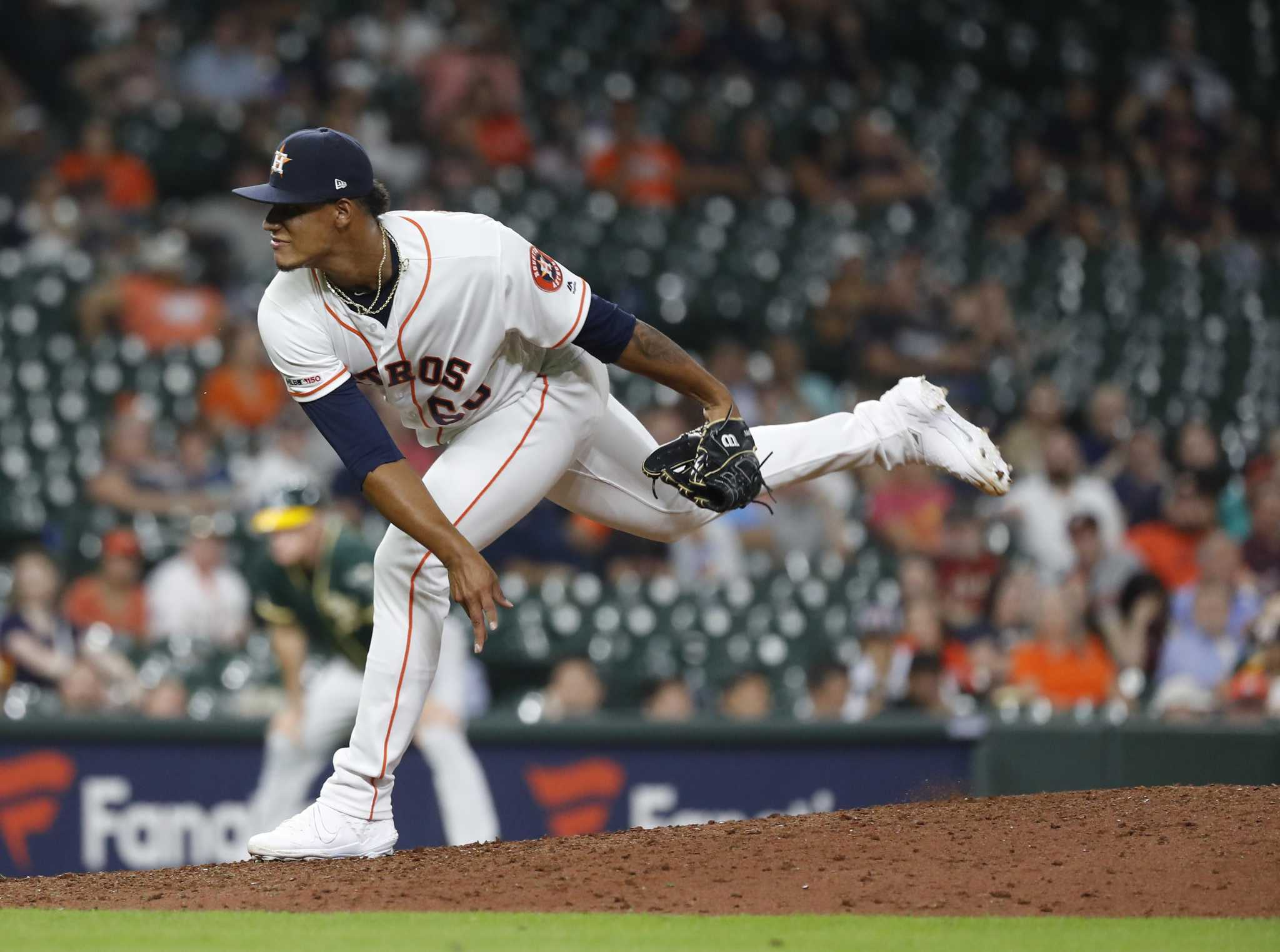 Bryan Abreu adds spin to Astros' postseason roster talk -  HoustonChronicle.com