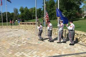 Cromwell veteran's memorial was dedicated Sunday.