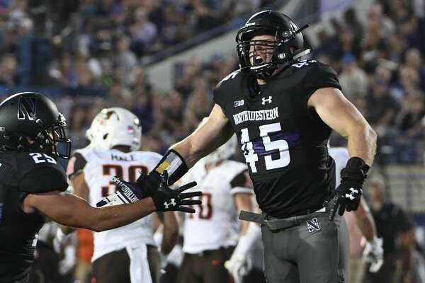 best sneakers 243ea 27fdb Northwestern transfer Nathan Fox leaves UH's football ...