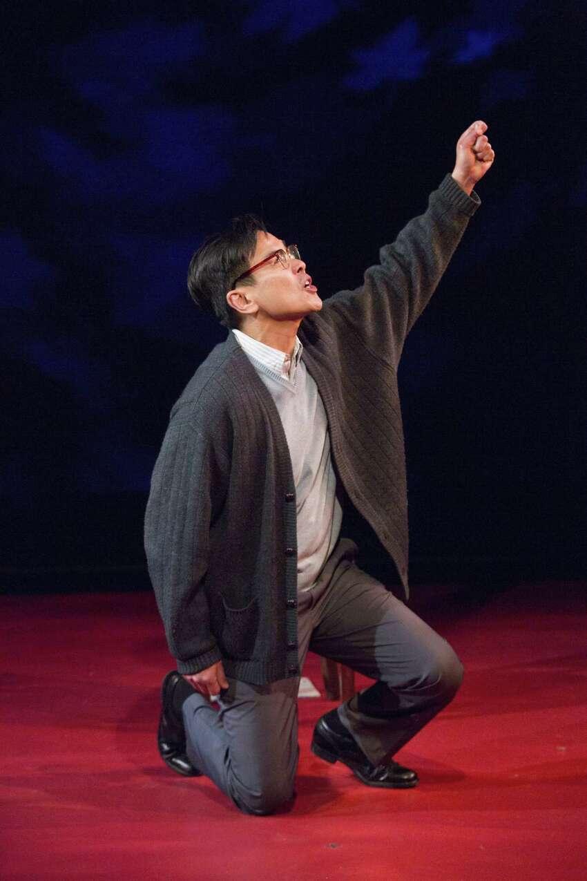Joel de la Fuente stars in the one-man play