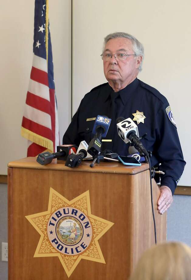 Tiburon Police Chief Michael J. Cronin announced on Tuesday, Sept. 8, 2020, that he will retire, effective Sept. 13. Photo: Liz Hafalia / The Chronicle