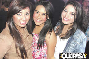 Lizzie Garza, Jacqui Martinez and Yajaira Flores at F-Bar 2013 ¿Qué Pasa? Out & About Galleries