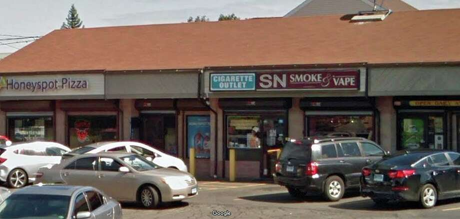 A local smoke and vape shop is facing a $570 civil penalty from the federal Food and Drug Administration after selling e-liquid products to minors twice in less than five months, according to a complaint. The SN Smoke and Vape shop at 665 Honeyspot Road received a warning letter earlier this year after a clerk sold an e-liquid product to a minor during an inspection on Jan. 30, documents said. The clerk did not ask for photo identification during the sale, the inspector said. Photo: Google Street View