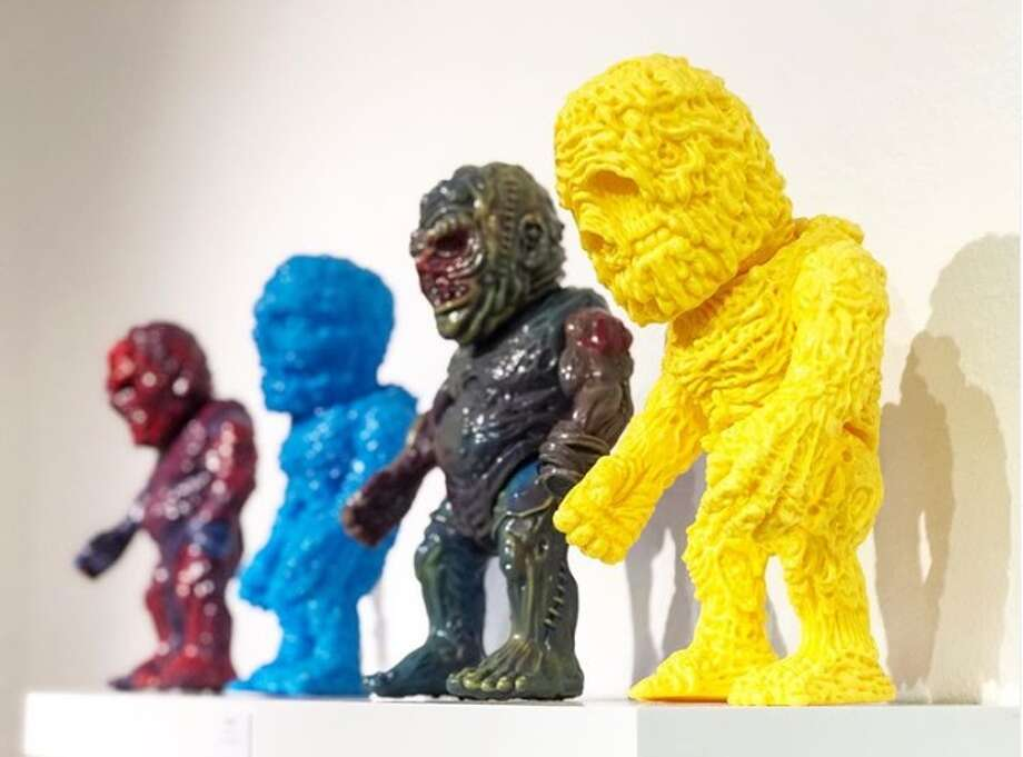 Form Gallery, owned by toy-maker Aaron Moreno, will feature monthly exhibitions of designer toys — either sculpted by Moreno or other designers — every second Saturday on the month from 7 to 10 p.m. at 1906 South Flores Street. Photo: Aaron Moreno