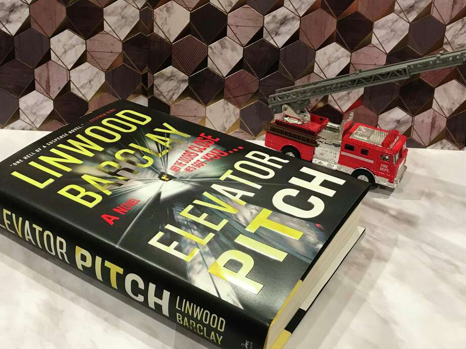 """""""Elevator Pitch"""" by Linwood Barclay was published on Sept. 17. Photo: TinaMarie Craven / Hearst Connecticut Media /"""