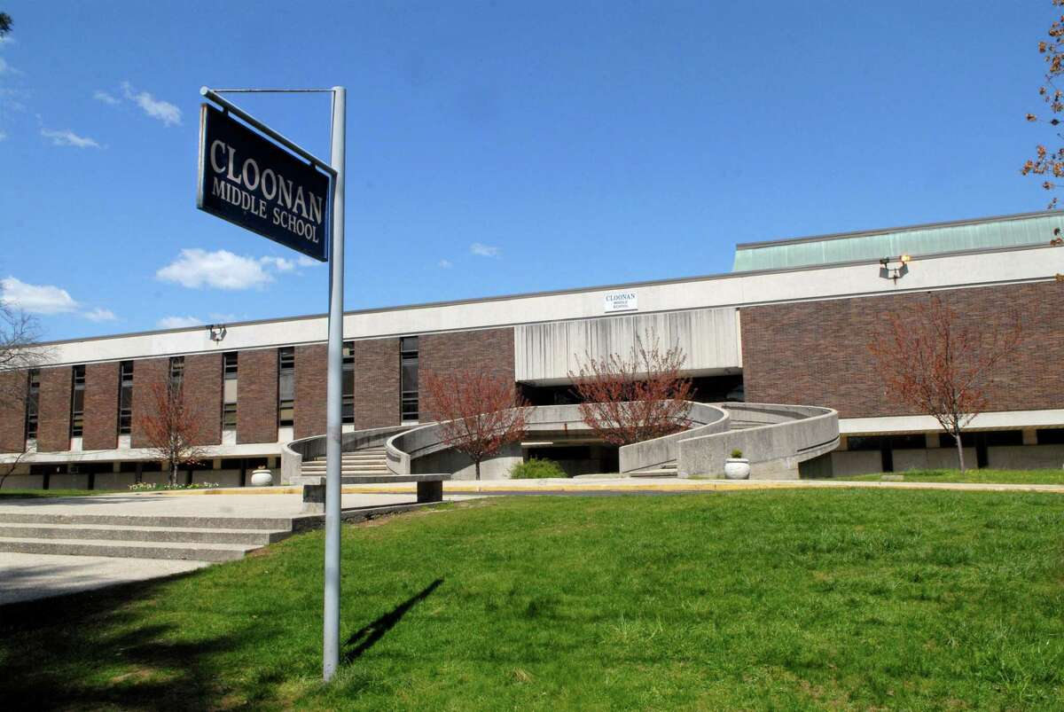 Cloonan Middle School in Stamford.