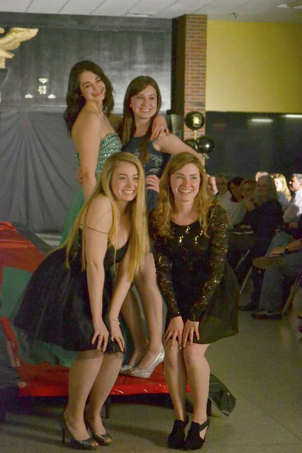 The Trumbull High Fashion Show, a fundraiser for the school's post-prom, returns Friday after a four-year hiatus. 2015 file photo. Photo: Lia Horyczun / THS Eagle's Eye / Trumbull Times Contributed