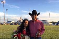 The 2019 Homecoming Queen for Hart ISD is Kirston Diego. She is pictured with her dad, Andy Diego, Jr. She was crowned before the football game Friday evening with the Amherst Bulldogs.