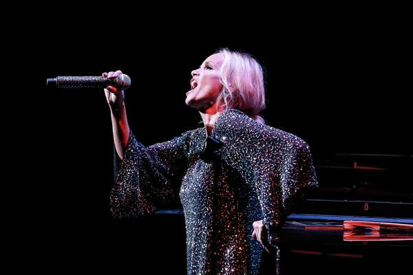 Kristin Chenoweth takes the stage at The Ridgefield Playhouse Fall Gala on Sept. 28.
