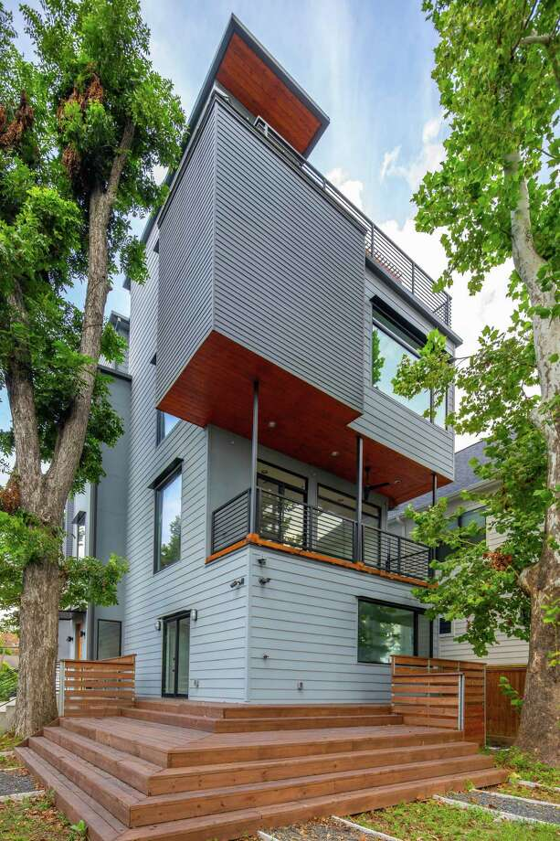 Home designed by charles Todd Helton Architect, will be on this year's Houston Modern Home Tour. Photo: James Leasure/Modern Architecture + Design Society