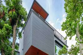 Home designed by charles Todd Helton Architect, will be on this year's Houston Modern Home Tour.