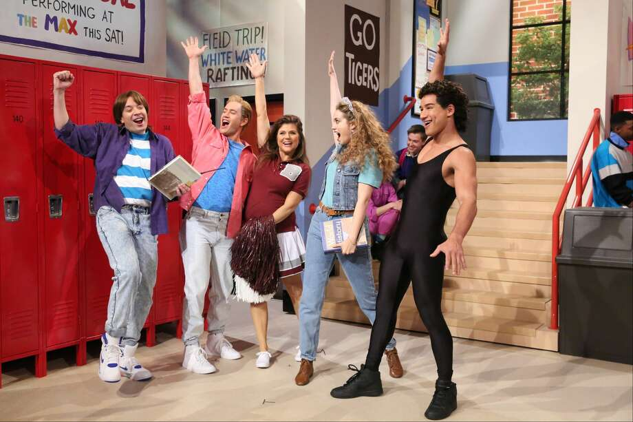 Jimmy Fallon reunited the cast of Saved by the Bell for a skit in 2015.  >> More photos: See more titles to be available on the upcoming NBC streaming service >> Photo: Getty Images / 2015 NBCUniversal Media, LLC