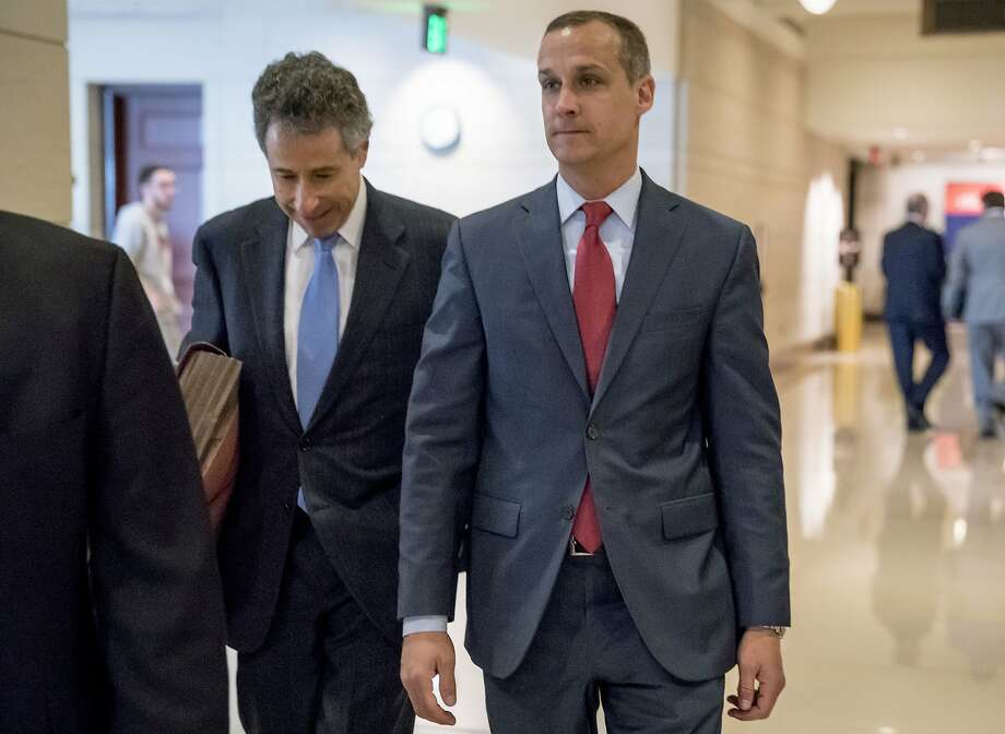 Corey Lewandowski, a friend of President Trump, followed White House orders not to discuss conversations with the president beyond what was already public in Robert Mueller's report. Photo: Andrew Harnik / Associated Press