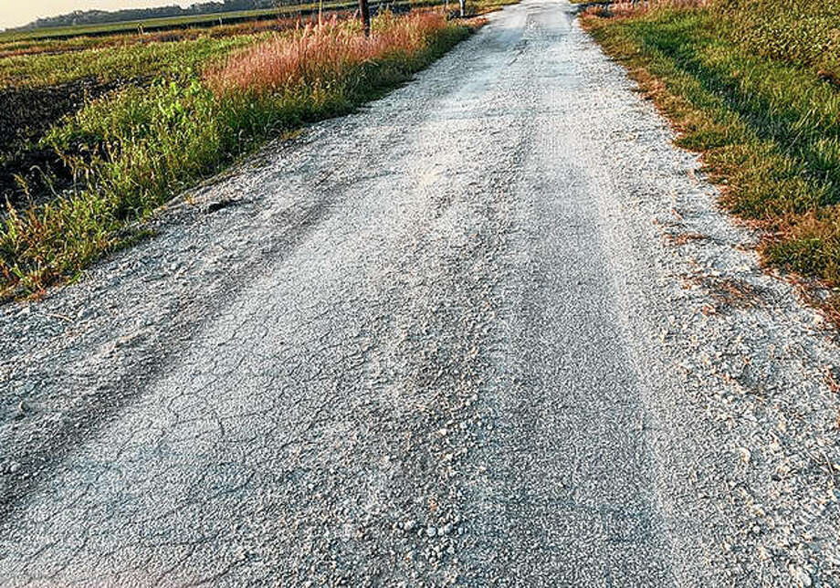 The Greene County Board says it wants Spire Energy to repair a 5-mile stretch of County Road 1000 East. Photo: Marco Cartolano | Journal-Courier