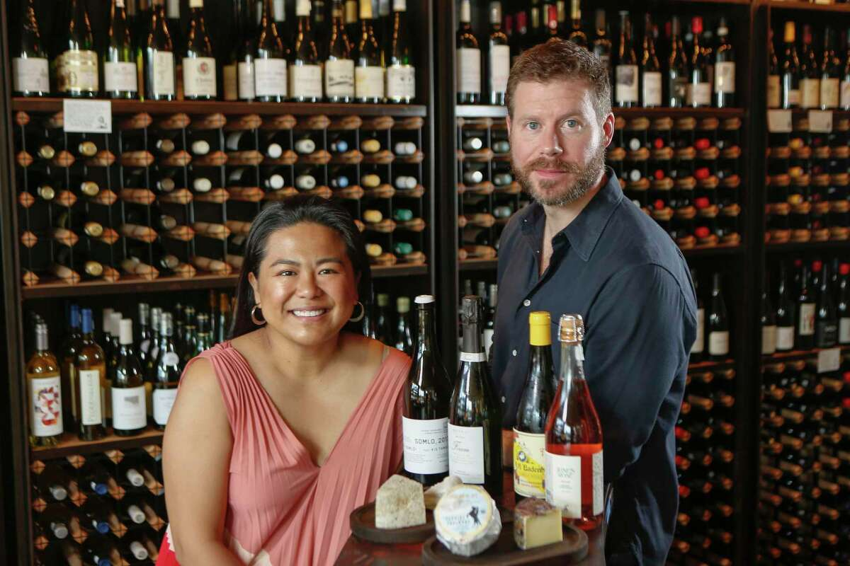 Master Sommeliers June Rodil and David Keck at Montrose Food & Wine