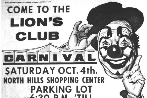 Fifty years ago this week, the Conroe Lion's Club was preparing for its annual carnival. The event was a time-honored fall tradition for those growing up in Conroe in the 1950s and 1960s.