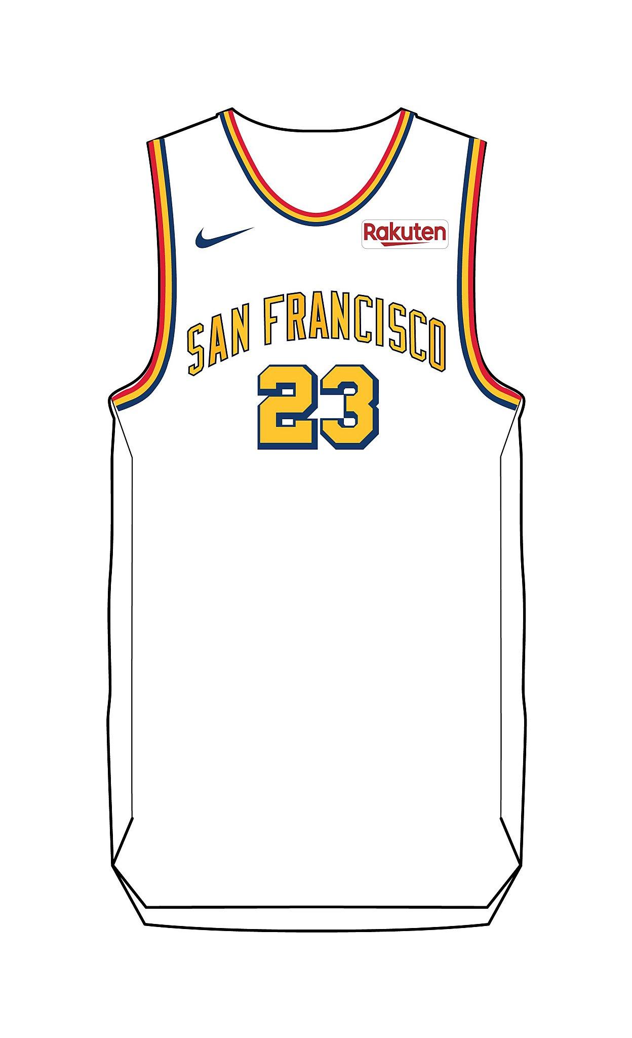 Warriors to wear 'San Francisco' across