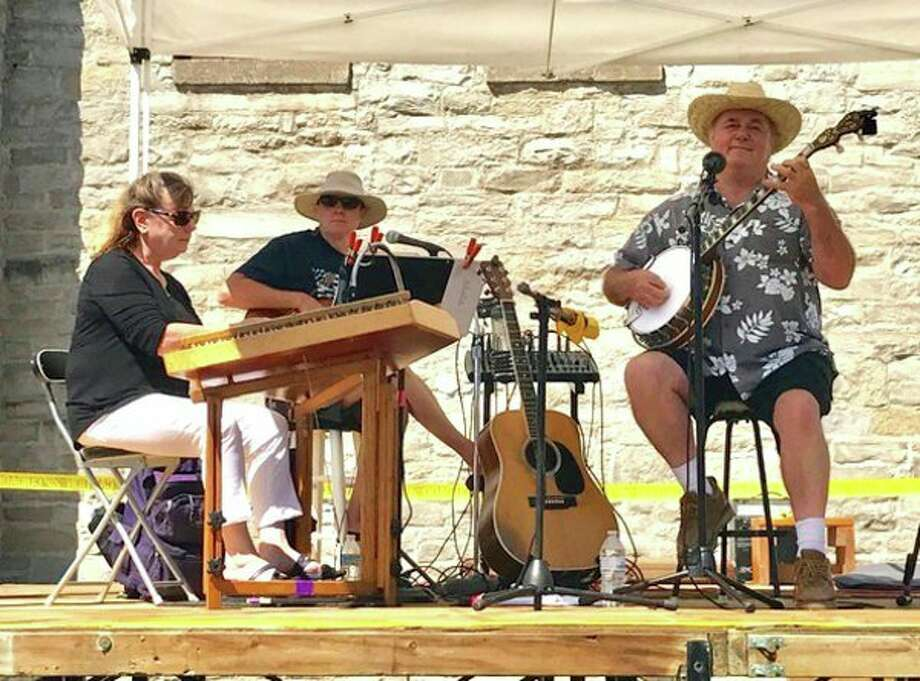 Picks & Sticks will perform from 10 a.m. to 1 p.m. on Saturday downtown at the stage adjacent to the historic gymnasium during the Port Austin Farmers Market. (Submitted Photo)