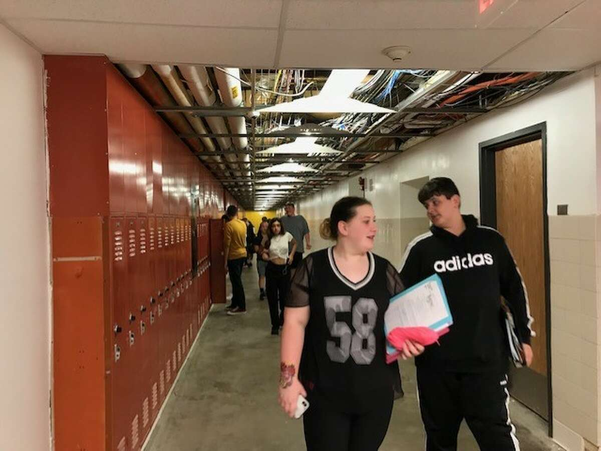 Mechanicville High School is in the midst of a $33.5 million capital project.