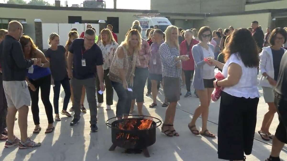 Staff and teachers at Mechanicville City School District kick off the new academic year with a ceremony of hope.