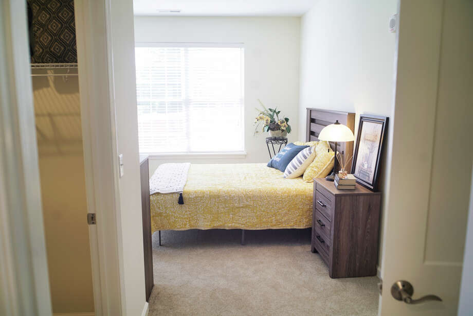 A view of the inside of a two bedroom unit at the newly opened Parkland at Shaker Pointe on Tuesday, Sept. 17, 2019, in Colonie, N.Y. Parkland at Shaker Pointe is a 35-unit apartment that offers rental options on the campus of Shaker Pointe at Carondelet and gives those living at Parkland at Shaker Pointe access to the lifestyle at Shaker Pointe.    (Paul Buckowski/Times Union) Photo: Paul Buckowski, Albany Times Union / (Paul Buckowski/Times Union)