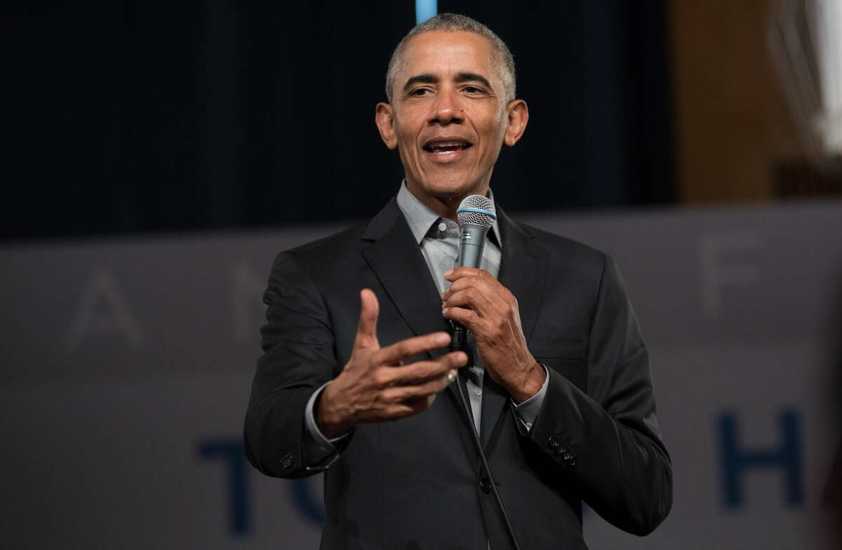 """Former US President Barack Obama. That Obama was a fan of his work, Klay learned through friends who saw the then-president speaking favorably about """"Redeployment"""" on cable news. """"All of my friends who watch Fareed Zakaria were like 'Phil!'"""" Klay recalls, laughing. Klay is now at work editing a collection of his essays, which he hopes to publish some time next year. Hopefully, by the time that book comes out, the pandemic will have loosened enough for Klay to get the thoughts and feelings of his readers who haven't held the highest office in the country. """"It's a very odd thing to put a book out there now,"""" Klay says. acuda@ctpost.com; Twitter: @AmandaCuda"""