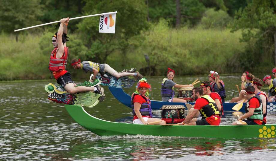2019 YMCA Dragon Boat Team Challenge will be September 26 - 29. Photo: Jason Fochtman, Houston Chronicle / Staff Photographer / © 2018 Houston Chronicle