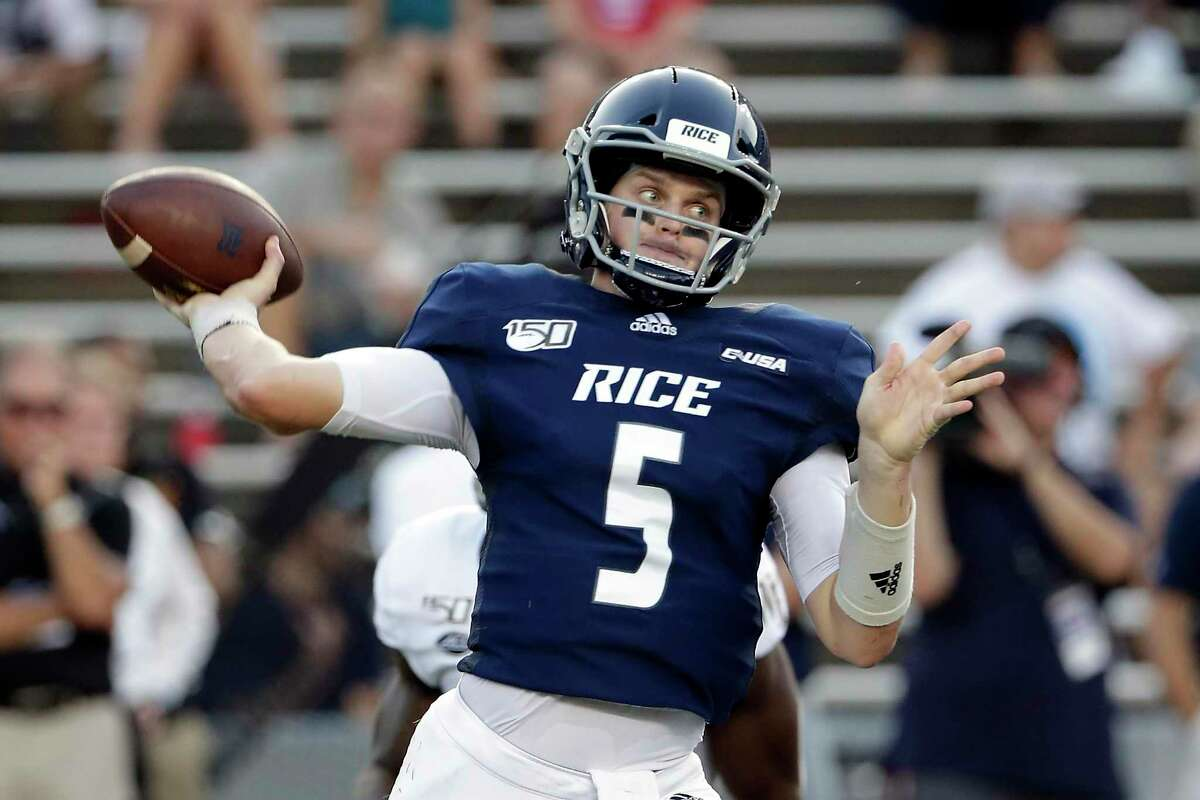 Wiley Green could be back at QB for Rice this week against Baylor.