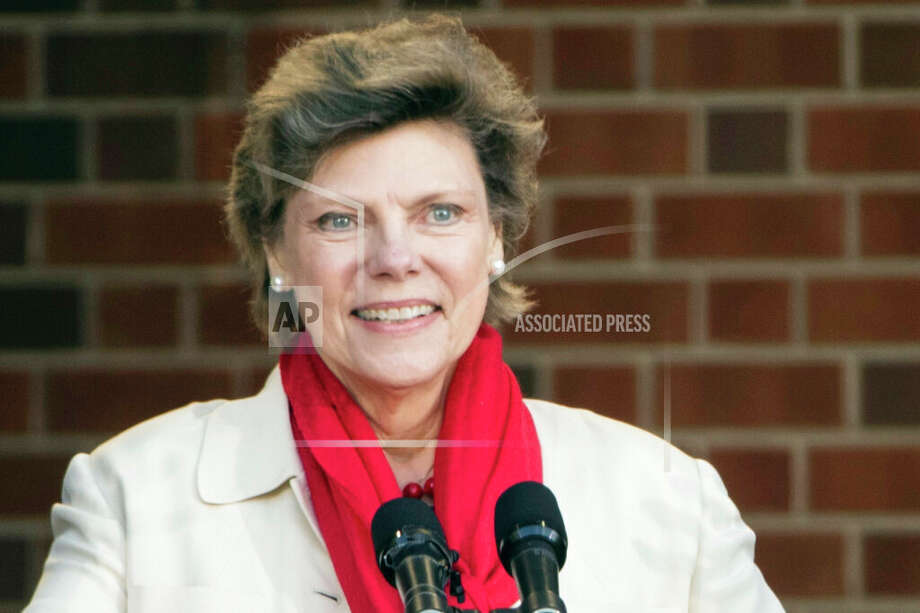 FILE- In this April 19, 2017, file photo, Cokie Roberts speaks during the opening ceremony for Museum of the American Revolution in Philadelphia. Roberts, a longtime political reporter and analyst at ABC News and NPR has died, ABC announced Tuesday, Sept. 17, 2019.  She was 75. (AP Photo/Matt Rourke) Photo: Matt Rourke/AP / Copyright 2017 The Associated Press. All rights reserved.