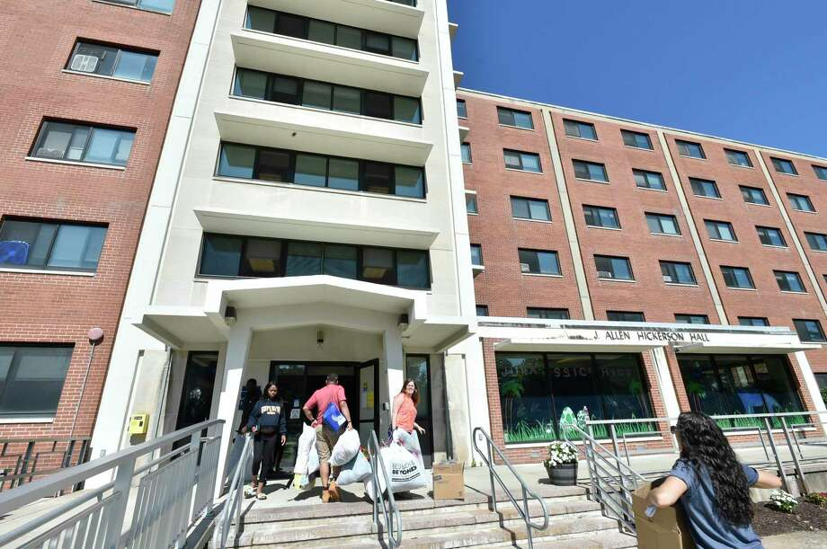 Southern Connecticut State University dormitories in New Haven. Photo: Peter Hvizdak / Hearst Connecticut Media / New Haven Register