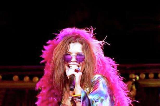 """Mary Bridget Davies brings """"A Night With Janis Joplin"""" to The Garde this weekend."""