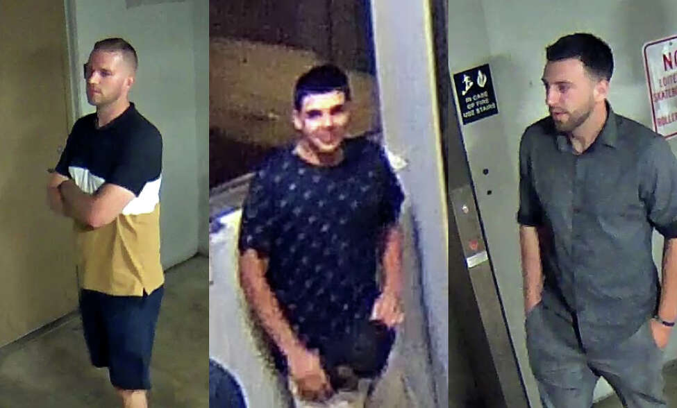 Saratoga Springs police are asking for the public's help in identifying these three men, who are suspects in an ongoing investigation. Anyone with information is asked to call Patrolman Marshal at 518-584-1800 or leave an anonymous tip at 518-584-8477.