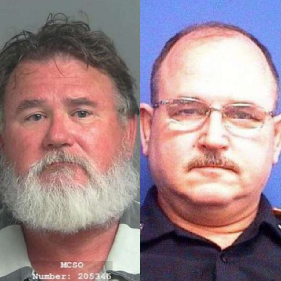 Robert Eugene Lee, 60, was a Stagecoach Police Department officer when on May 25 he killed 57-year-old Rocky Lee, a 26-year veteran with the sheriff's office. Photo: Courtesy Of The Montgomery County And The Harris County Sheriff's Offices