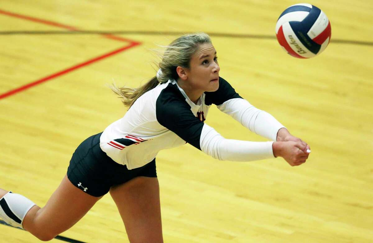 Junior libero Julia Lopez recorded 65 digs in a pair of playoff victories to help Churchill reach the third round.