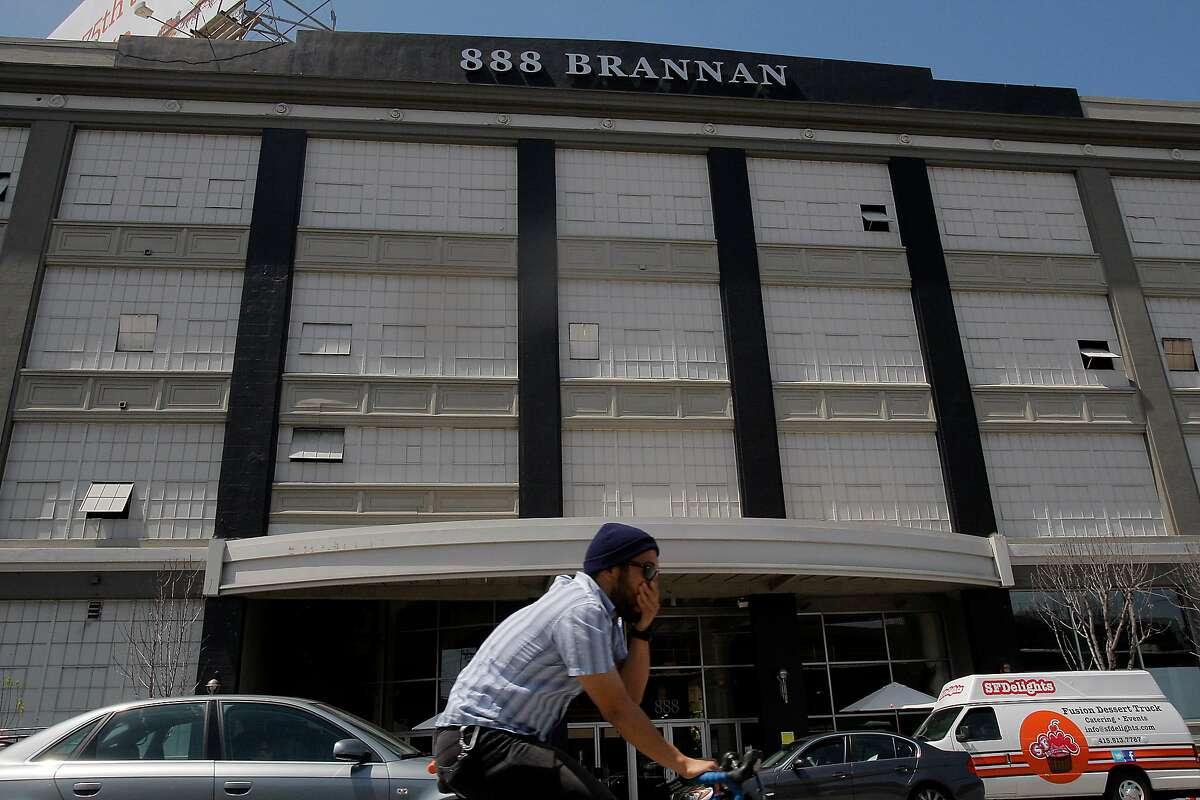 888 Brannan street building in San Francisco, Calif. on May 1, 2012.