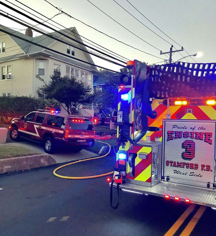 A kitchen fire caused about $10,000 in damages in a Stamford house at 64 Schuyler Ave. Tuesday, Sept. 17, 2019. Photo: Stamford Fire Department Photo