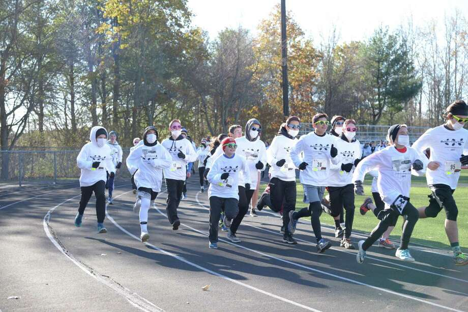 Shelton High School is hosting its third annual Crazy 4 Color 5K Run and Family Fun Run on Saturday, Oct. 19, at 8:30 a.m. starting at Finn Stadium. Photo: Contributed Photo / Connecticut Post