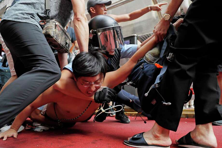 The struggle in Hong Kong is over preserving a vibrant democratic culture and civil society. U.S. policy should reflect that  residents are decreasingly likely to think of themselves as Chinese. Photo: Kin Cheung /Associated Press / Copyright 2018 The Associated Press. All rights reserved